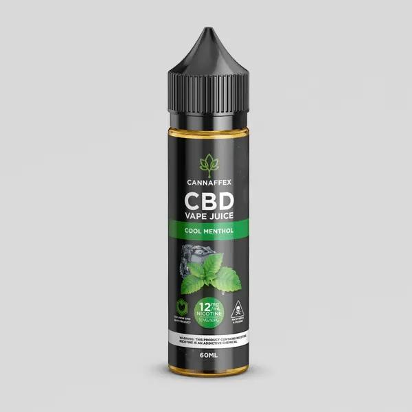 CBD cool menthol vape juice