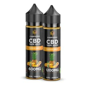 CBD Vape Juice Tropical Dream 600mg or 1200mg