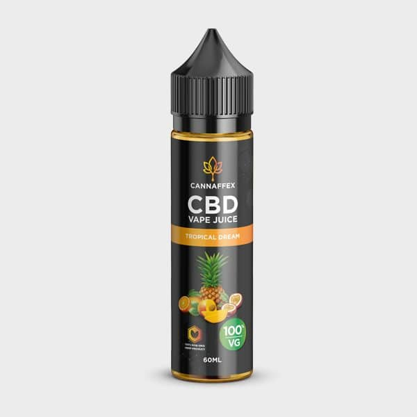 Cannaffex Tropical Dream 600mg 100VG CBD Vape Juice