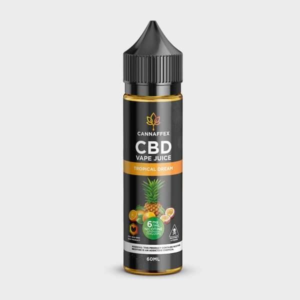 Tropical Dream CBD Vape Juice 600mg Canada 6mg Nicotine