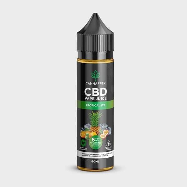 Tropical Ice CBD Vape Juice Canada 6mg Nicotine
