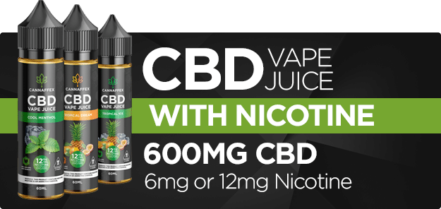 CBD Vape Juice in Canada with Nicotine