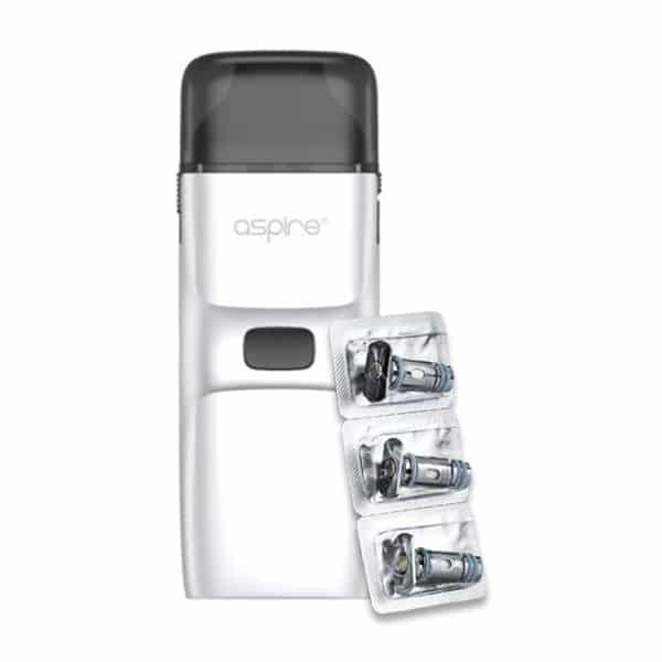 Aspire Breeze NXT White with Coils 3 pack