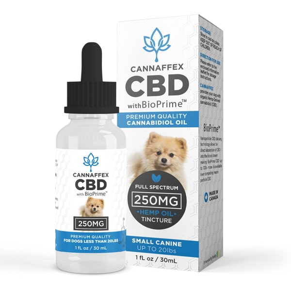 Cannaffex Full Spectrum CBD Oil for Small Dogs 250mg
