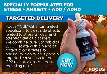 Focus CBD Oil Tinctures Canada
