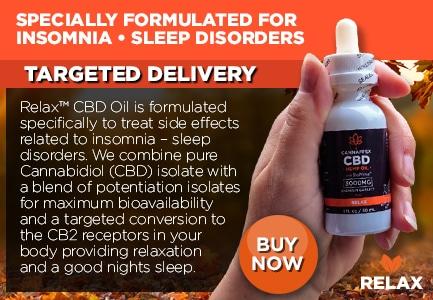 Cannaffex Relax CBD Oil Tinctures Canada