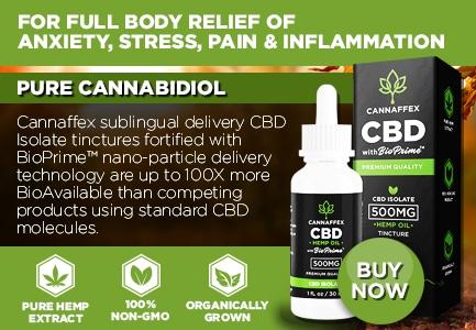 Cannaffex CBD Isolate Oil Canada