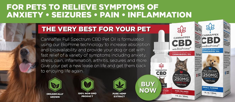 Cannaffex Pet Dog Cat CBD Oil