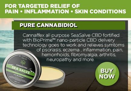 Cannaffex SeaSalve Topical CBD Cream Canada