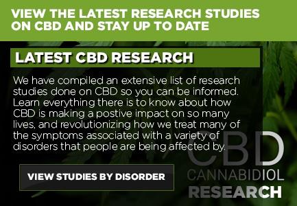 CBD Research Studies & Reviews Canada