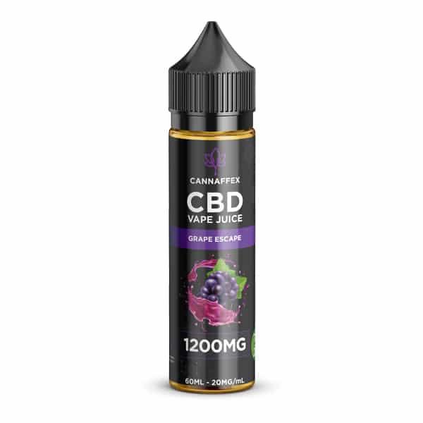 CBD Vape Juice Grape Escape 1200mg