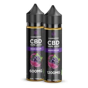 CBD Vape Juice Grape Escape 600mg or 1200mg
