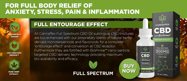 Cannaffex full spectrum CBD oil