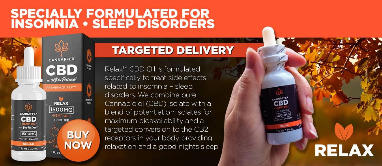 Cannaffex relax CBD oil tinctures