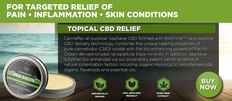 Cannaffex topical CBD seasalve