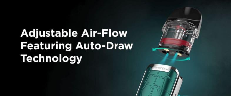 Vaporesso Luxe Q - Adjustable Air Flow